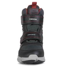 Geox Geox  J Flexyper ABX Boot Black/Red (J049XA)