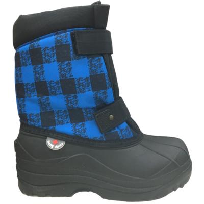 Hichaud Hichaud Botte 7551B Carreaux Bleu