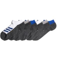 Adidas Adidas Youth Cushion No Show Sock (6PK) Shoe Size 13 - 4