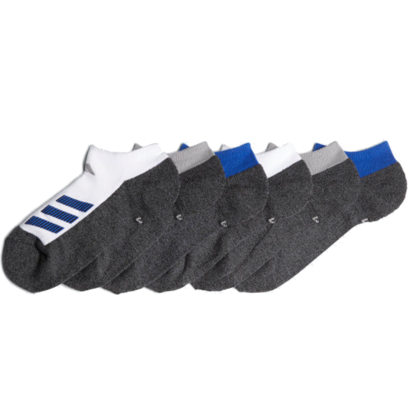 Adidas Adidas Youth Cushion No Show Sock (6PK)