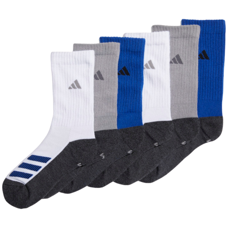 Adidas Adidas Youth Cushion Crew Sock Multi (6PK)