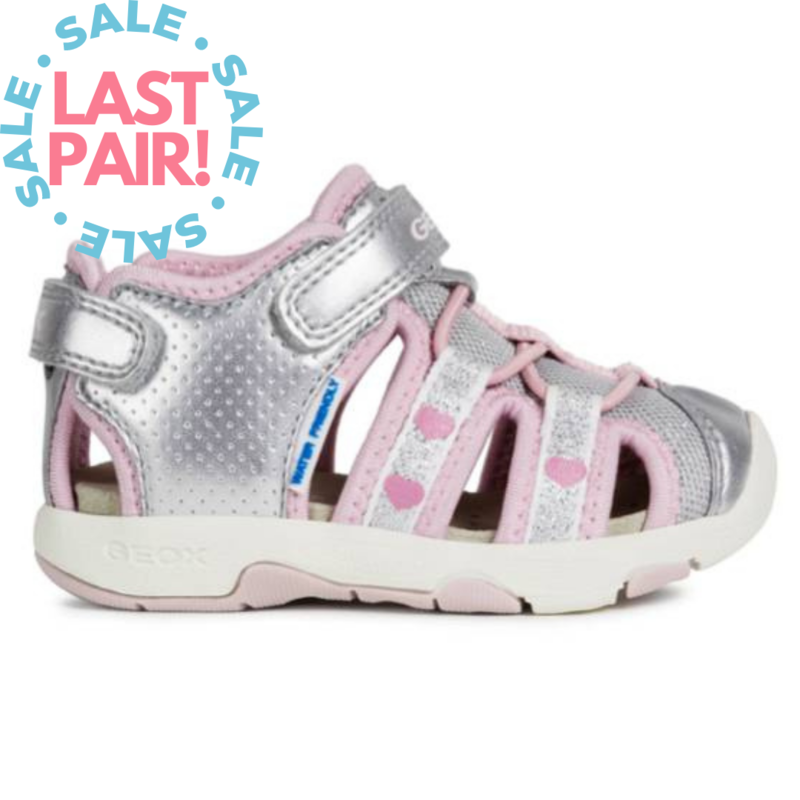 Geox Geox B Sand Multy Silver/Pink (Toddler 25)