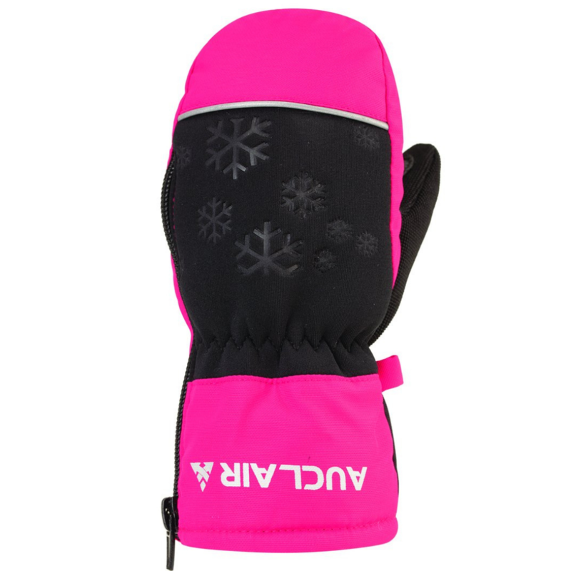 Auclair Auclair Flurry Mitt Black/Fuschia