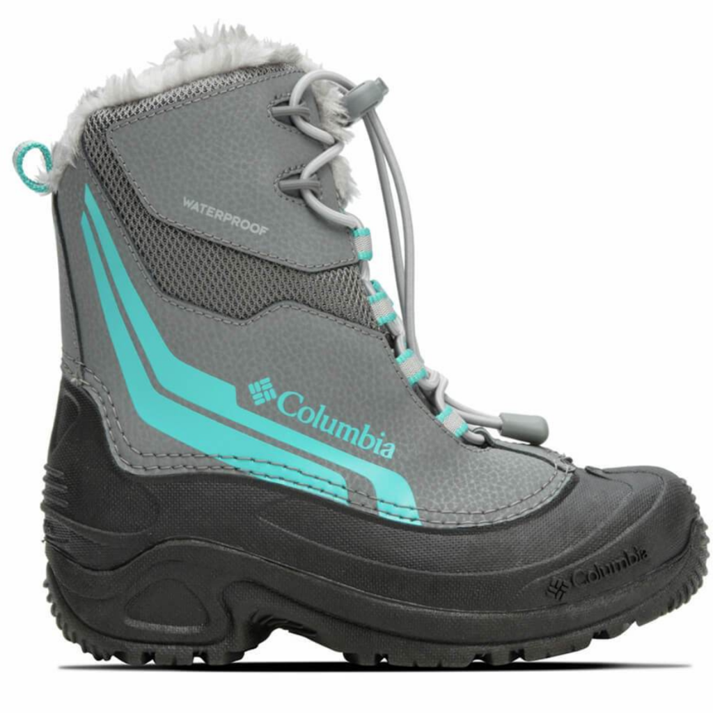 Columbia Columbia Youth Bugaboot Plus IV Grey Steel/Pacific Rim