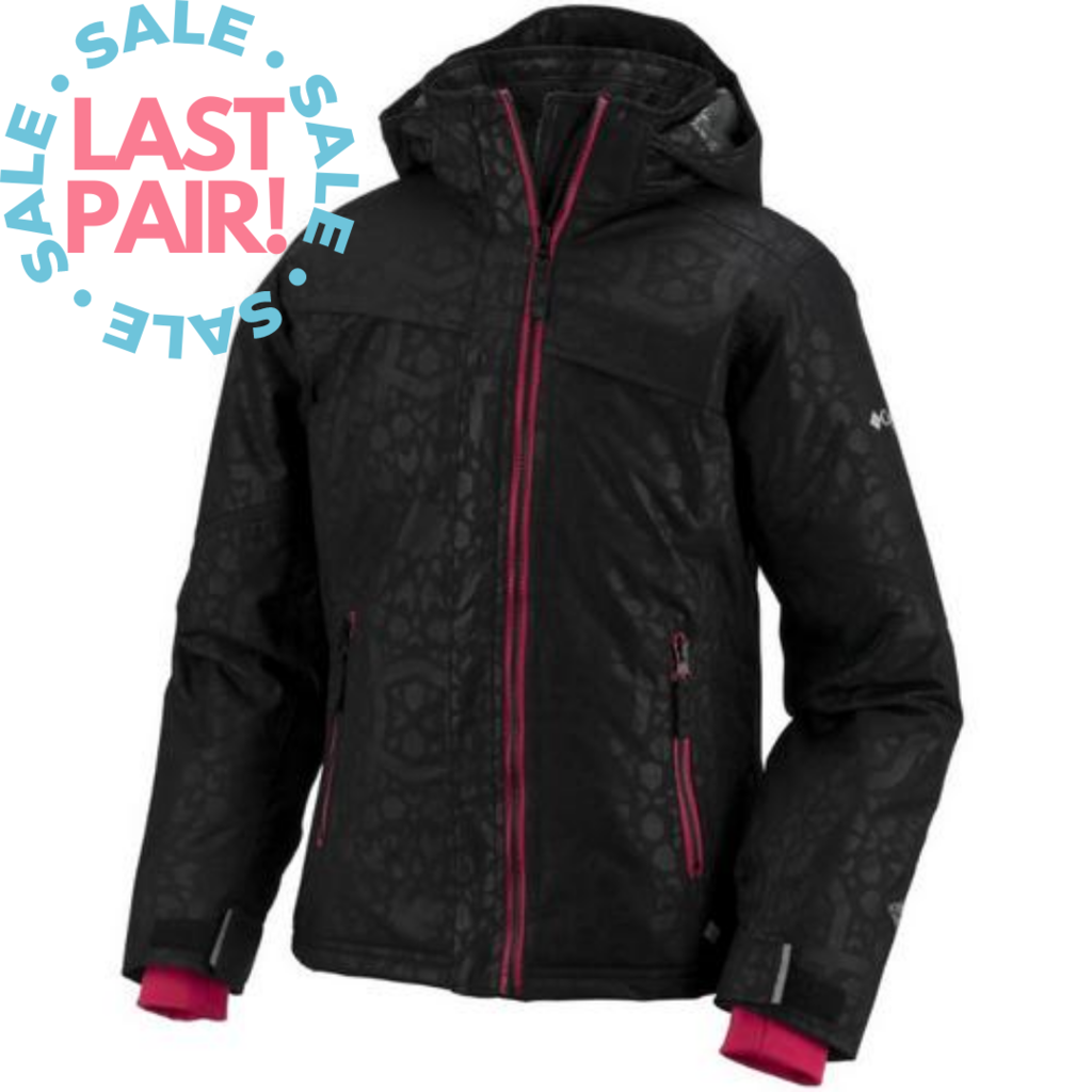 Columbia Columbia Snow Flame Jacket Black (6/6X)