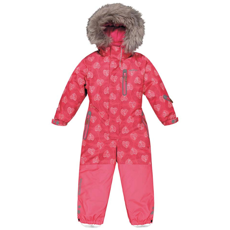 Kuoma Kuoma One Piece HENNA Snowsuit Pink Heart