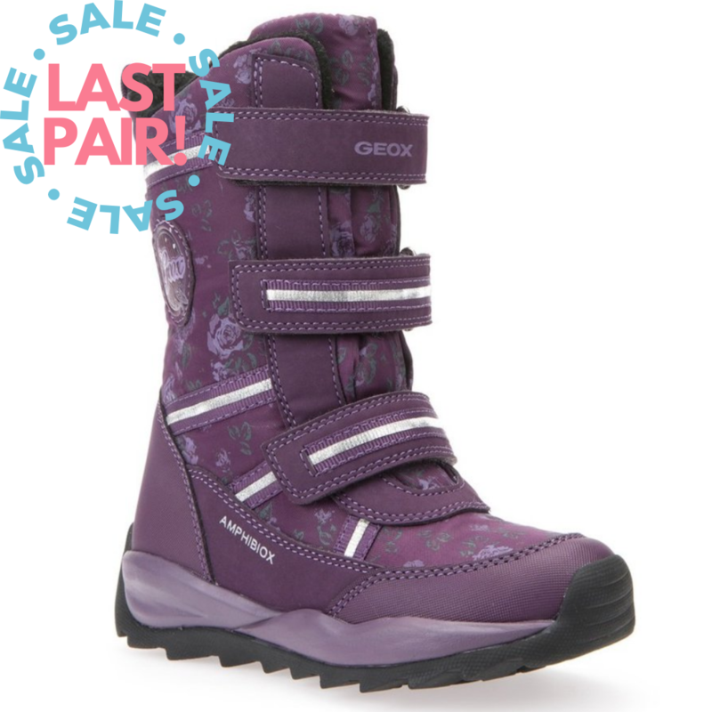 Geox Geox J Orizont ABX Dark Purple (Child 34)