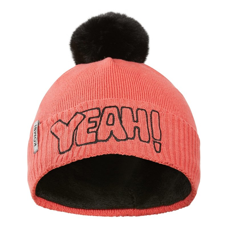 Kombi Kombi Flashy Jr Hat Intense Coral