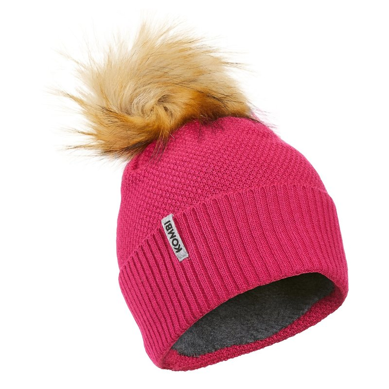 Kombi Kombi Stylish Jr Hat Cherry Pink