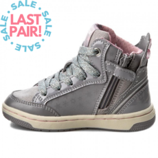 Geox Geox J Creamy Hi Grey (Child 32)