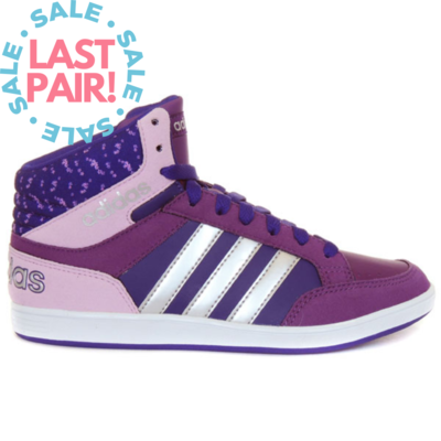 Adidas Adidas Hoops Mid K Purple/Silver (Child 13)