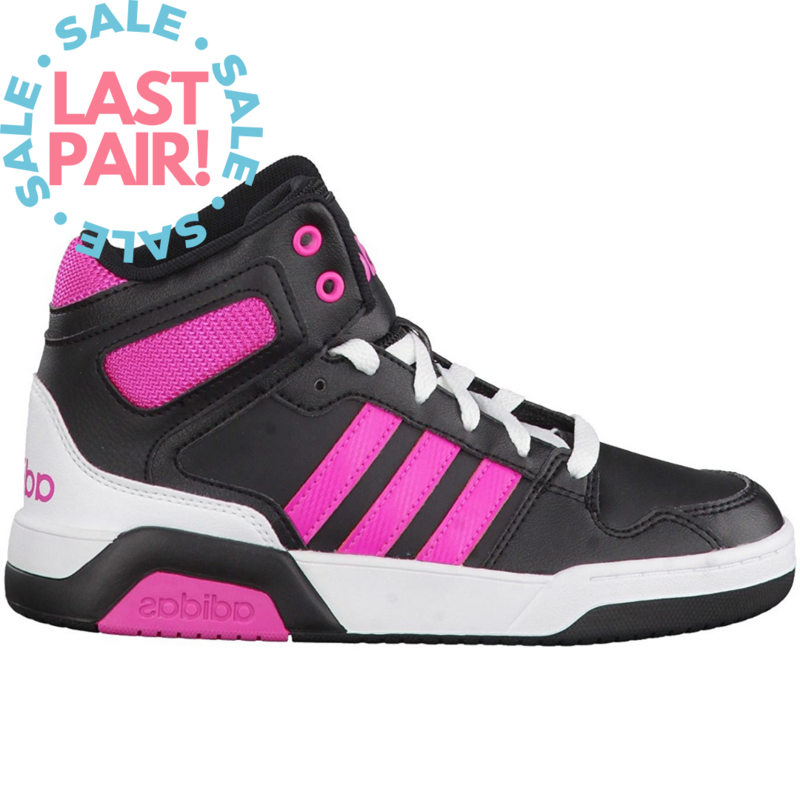 Adidas Adidas BB9TIS K Black/Shocking Pink (Child 13)