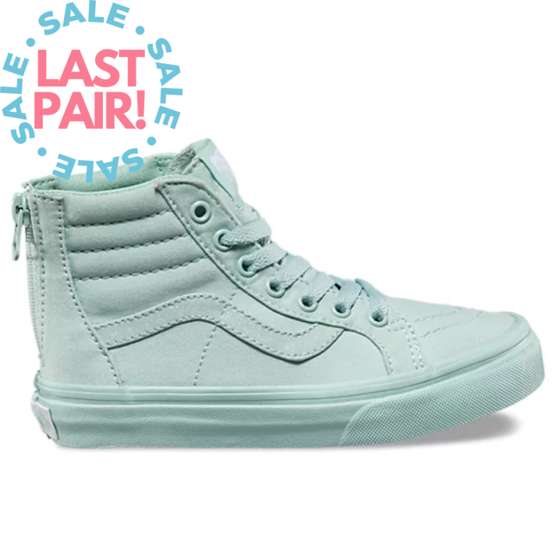 Vans Vans Sk8-Hi Zip Habor Gray/Glitter (Child 1 + 3)