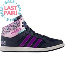 Adidas Adidas Hoops Mid K Collegiate Navy/Shocking Purple