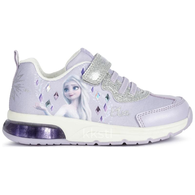 Geox Geox J Spaceclub Frozen Girl Lilac/Silver