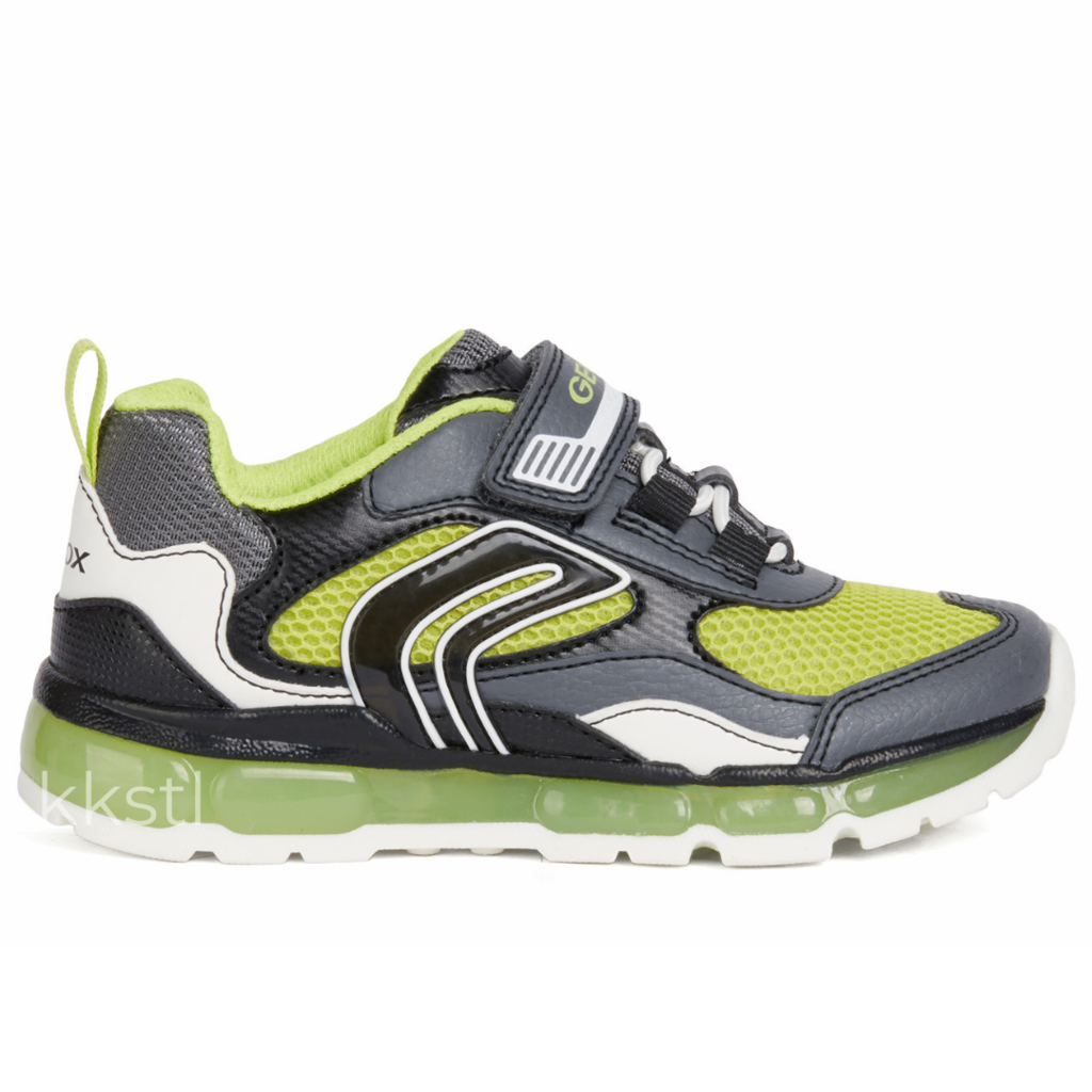 Geox Geox J Android Boy Dk Grey/Lime