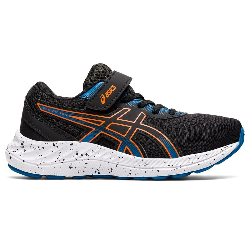 Asics Asics Pre Excite 8 PS Black/Marigold Orange