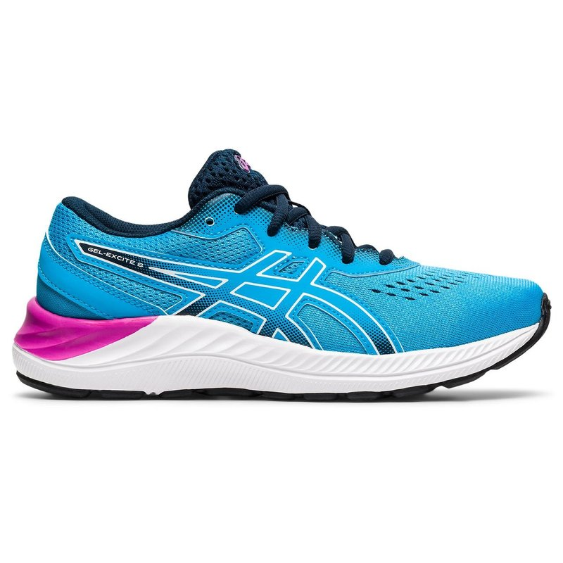 Asics Asics Gel Excite 8 GS Digital Aqua/White Youth 6.5 + 7