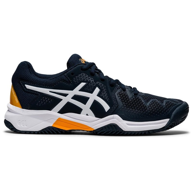 Asics Asics Gel Resolution 8 GS French Blue/White