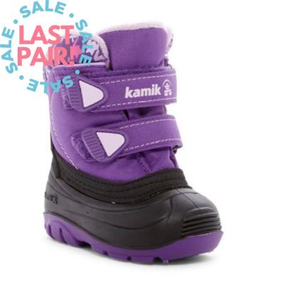 Kamik Kamik Treasure Purple (Toddler 8 + 9)