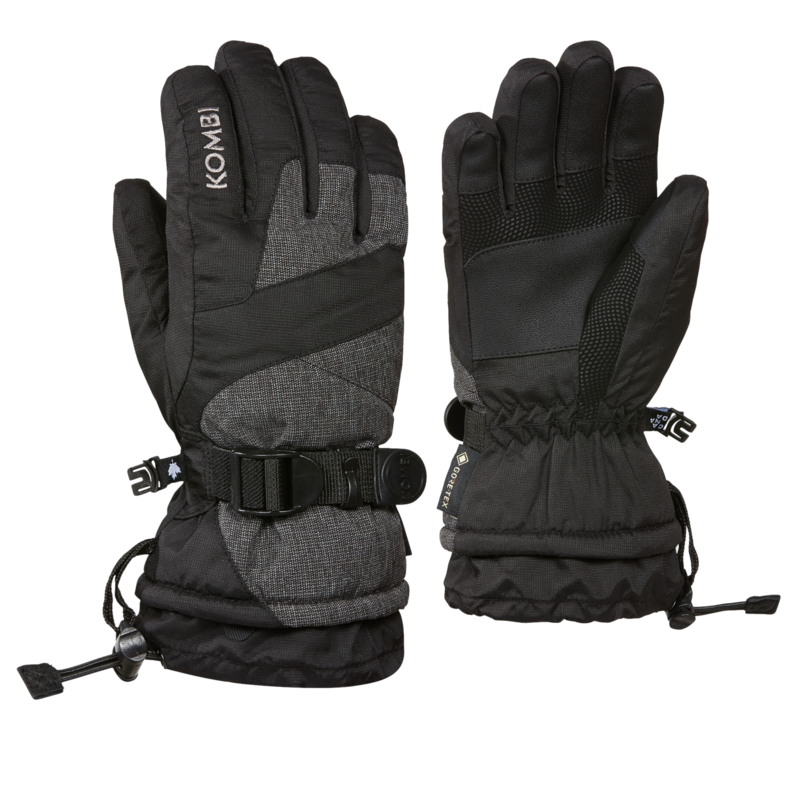 Kombi Kombi Racer Jr Glove Black Crosshatch