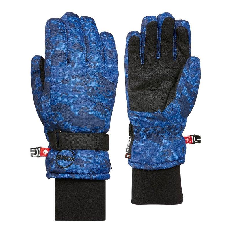 Kombi Kombi La Montagne Jr Glove Blue Pixels