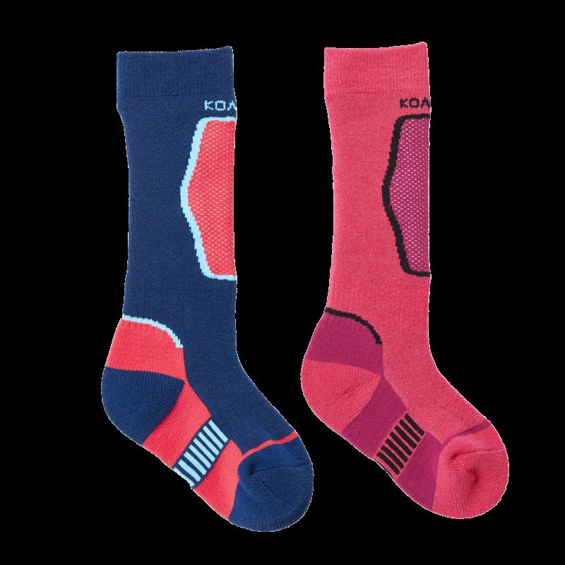 Kombi Kombi Brave Twin Pack Sock Wild Pink