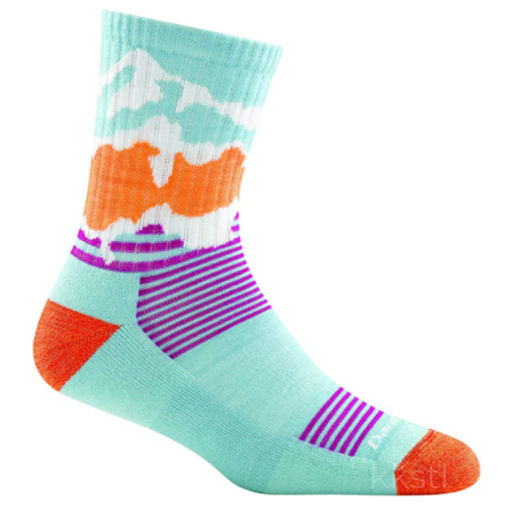 Darn Tough Darn Tough Three Peaks Jr. Sock Glacier Blue