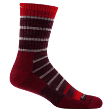 Darn Tough Darn Tough Via Ferrata Jr Sock Maroon