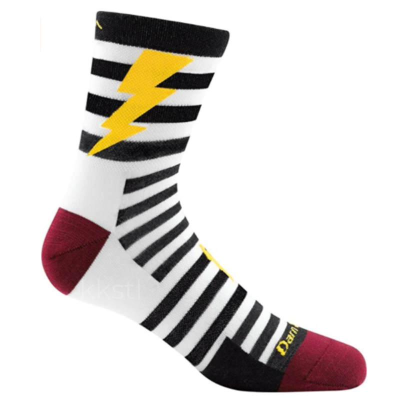 Darn Tough Darn Tough Lightning Micro Crew Jr Sock Black