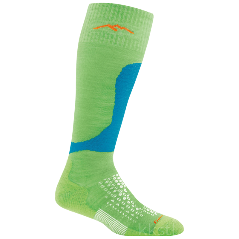 Darn Tough Darn Tough Fall Line Jr Sock Green