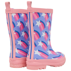 Hatley Hatley Rain Boot Shooting Stars Purple
