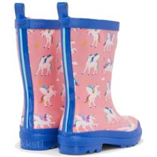 Hatley Hatley Rain Boot Magical Pegasus Pink