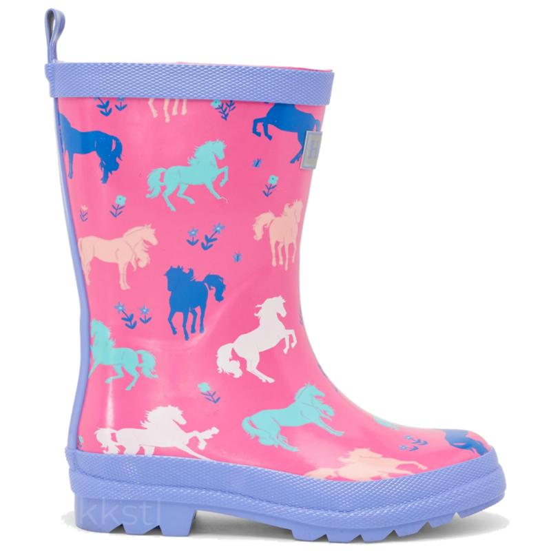 Hatley Hatley Painted Pasture Rain Boot Pink