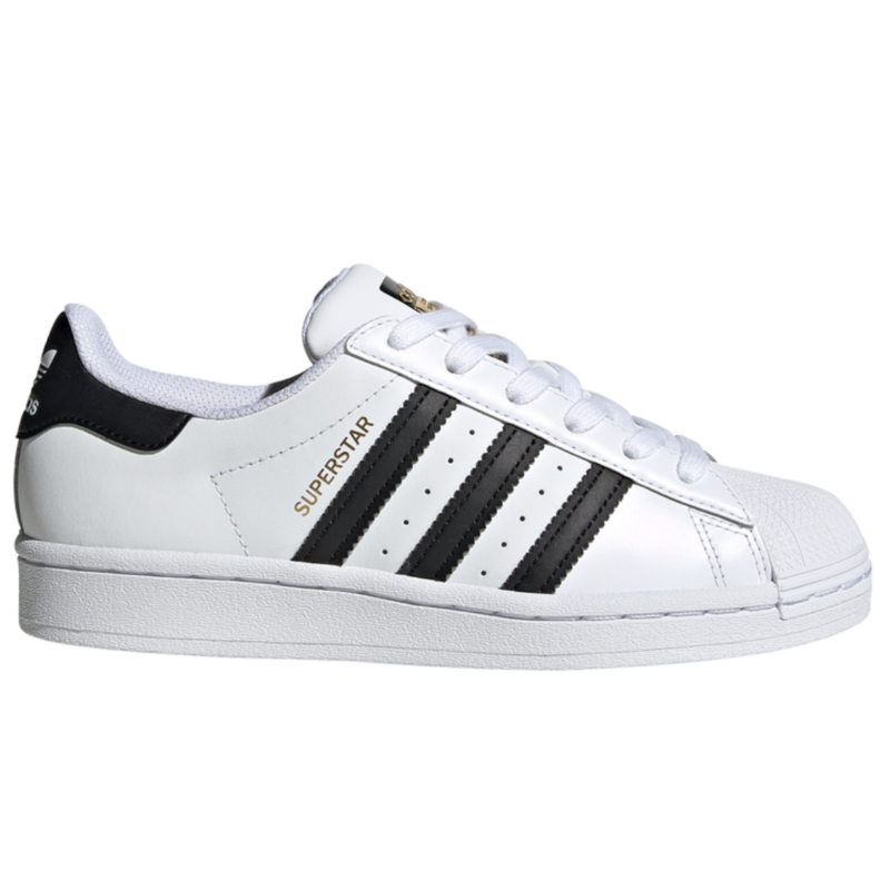 Adidas Adidas Superstar J Cloud White/Core Black Youth 6.5 + 7