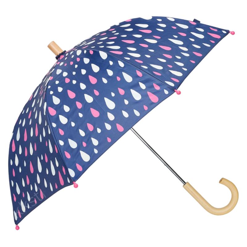 Hatley Hatley Colour Changing Umbrella Raindrops