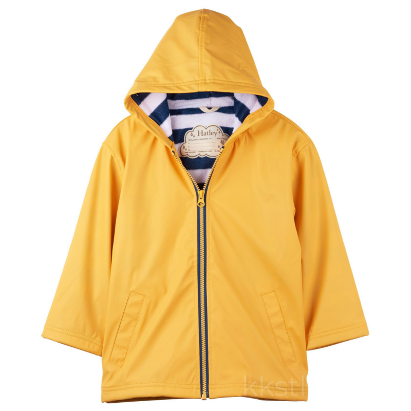 Hatley Hatley Splash Jacket Yellow/Navy