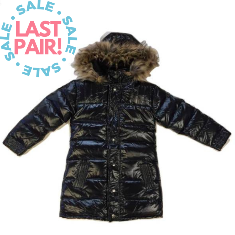 Appaman Appaman Winter Jacket Metallic (Size 6 + 7)