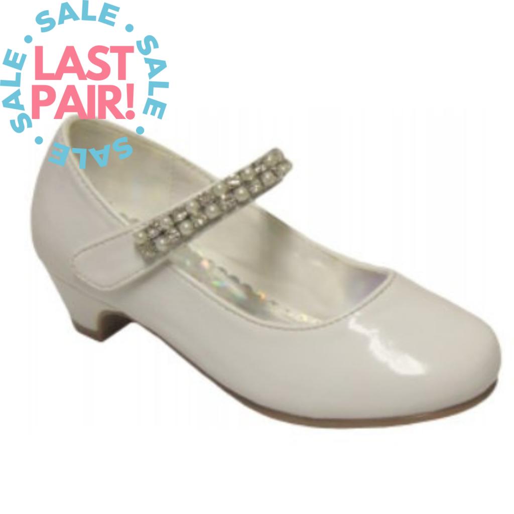 Angels New York Angels White Patent High Heel