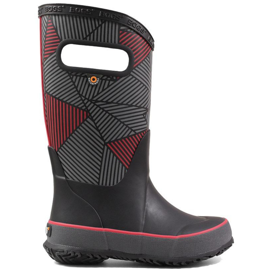 Bogs Bogs Big Geo Rainboot Black Multi