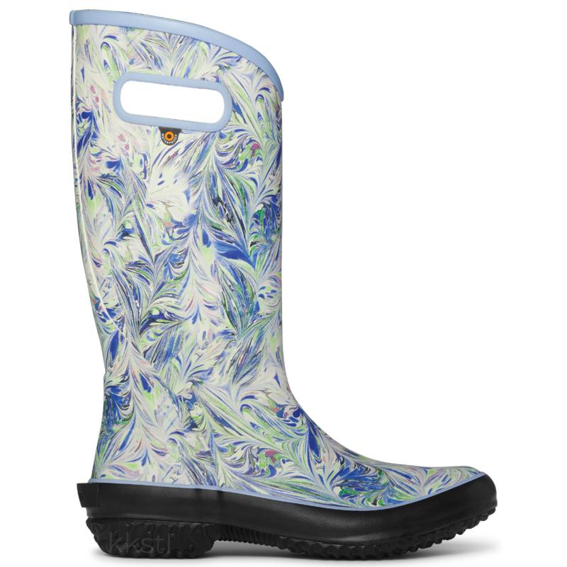 Bogs Bogs Women's Rainboot Marble Periwinkle