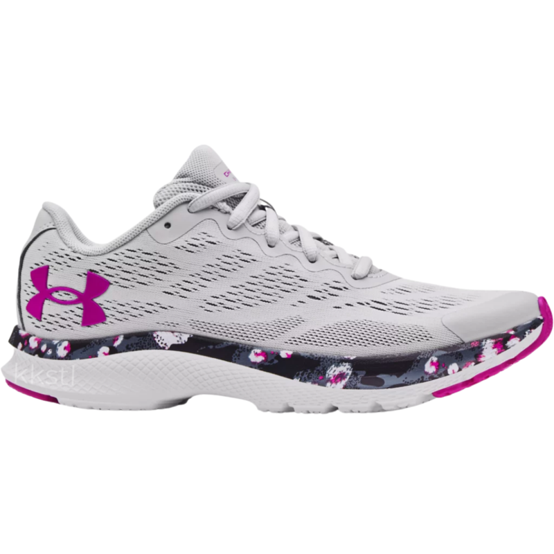 Under Armour Under Armour GS Charged Bandit6 HS Halo Grey Youth 6.5 + 7