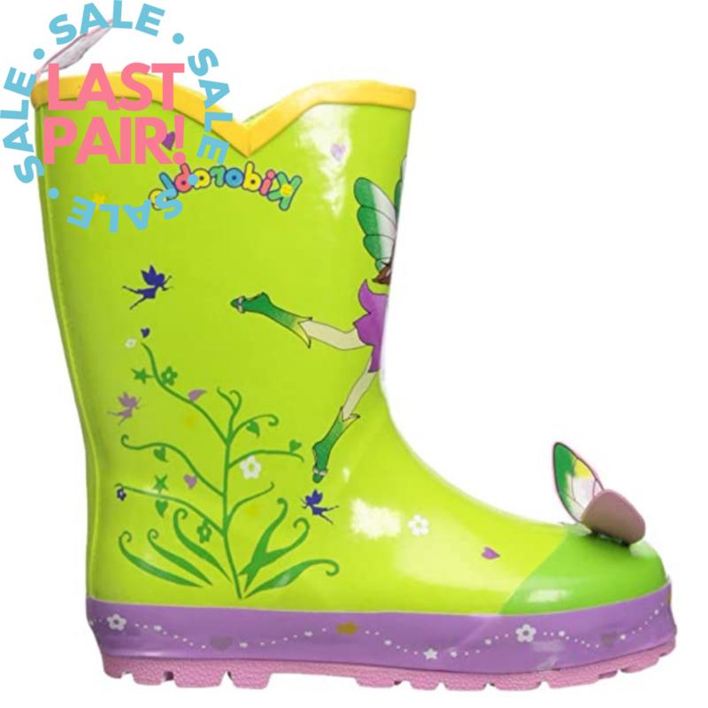 Kidorable Kidorable Green Fairy Rainboot (Toddler 8)