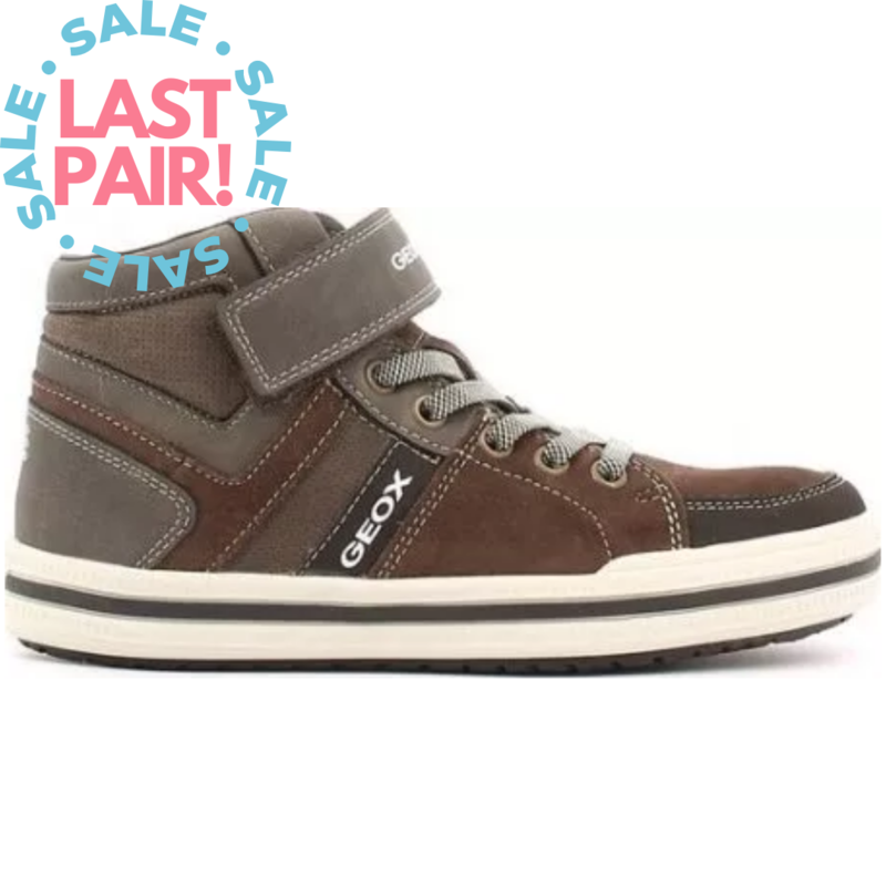 Geox Geox J Elvis Brown/Beige (Youth 5 + 6)