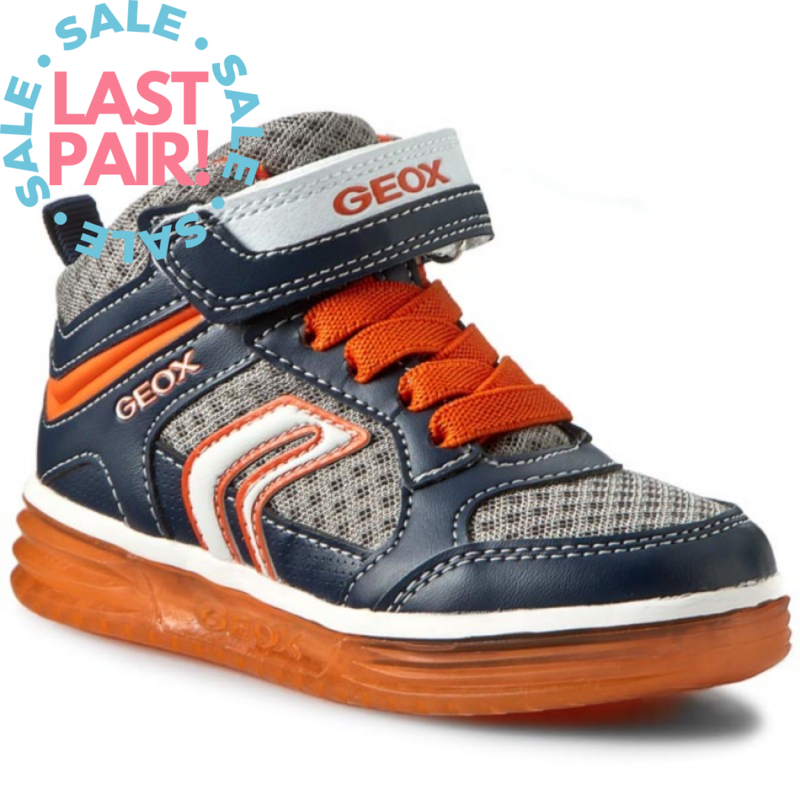Geox Geox J Argonaut Navy/Orange (Toddler 9)