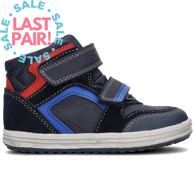 Geox Geox J Elvis Mid Navy/Royal (Youth 35)