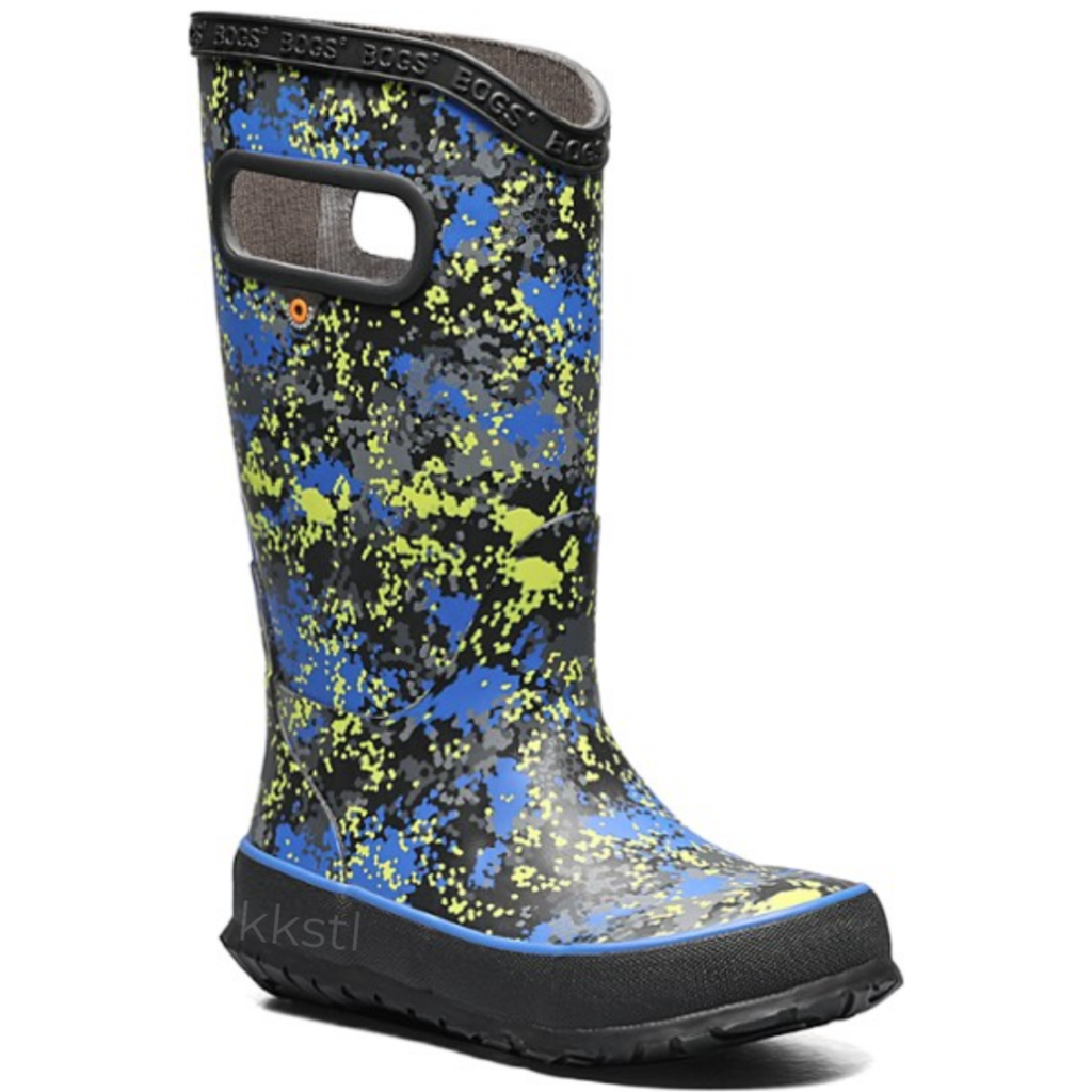 Bogs Bogs Rainboot Micro Camo Blue Multi