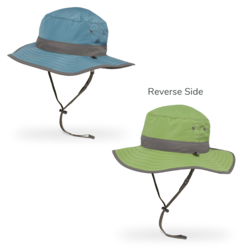Sunday Afternoons Sunday Afternoons Clear Creek Boonie Hat Blue Stone/Aloe