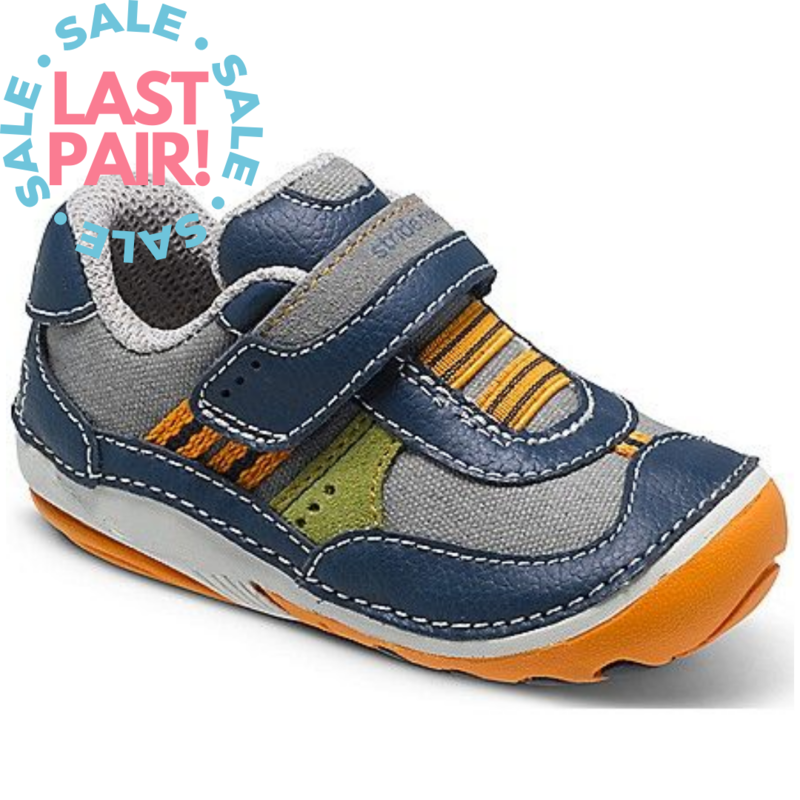 Stride Rite Stride Rite SM Mitchell Navy/Grey (Toddler 3W + 3.5M)
