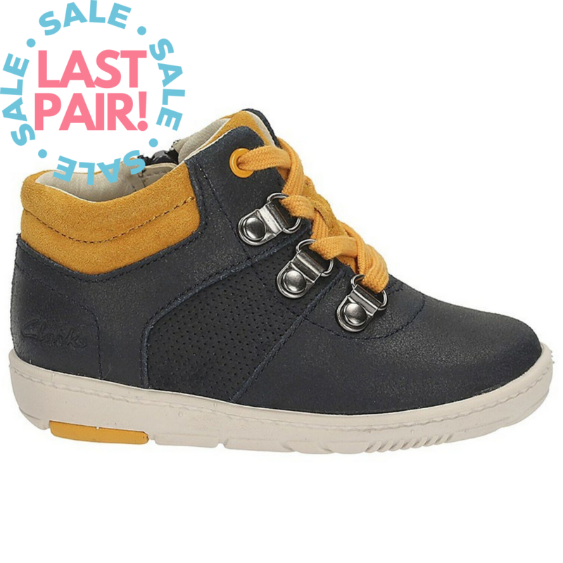 Clarks Maxi Fst Navy (Toddler 7 + 7.5)